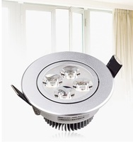 12W 4x3W Ceiling downlight Epistar LED ceiling lamp Recessed Spot light 85V-245V for home illumination 5 pcs/lot Freeshipping