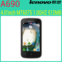 "Hot selling Original Lenovo A690 music android phone 4.0""  Capacitive Screen  Android 2.3 MTK6575 Dual core 3G GPS  Dual SIM"