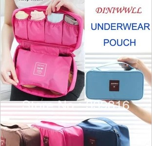 Free Shipping!  High Quality Waterproof Travel Bag/Underwear Storage Bag/Mother Bag/ Cosmetic Bag(4 colors to choose)