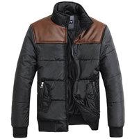 2013 men's winter clothing men wadded jacket thermal cotton-padded jacket men's cotton-padded jacket outerwear