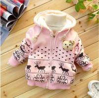 2013 new! Free shipping, 4 PCS/lot girl children cotton, coat, jacket, children's sport coats,boys jacket,children's jacket