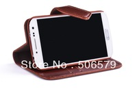 Wallet Style PU Mobile Case For 4S/5S/S3/S4/N7100 /8190/9082 Factory Price