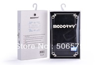 Durable Leather Case For Mobile Ip4/S/Samsung S3/S4/N7100/8190/9082 With High Quality Gift Box