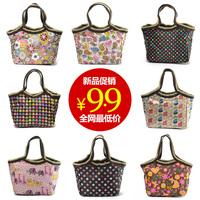 Free shipping/ waterproof lunch bag/ tote/ cosmetic bag/ women's handbag
