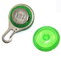 Circular Pendant Collar Puppy Led Safety Night Light Pet Dog Collar green Colors drop shipping & free shipping SL00167