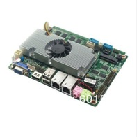 "free shippin ultrathin Atom D2550 dual-core 3.5"" thin client motherboard with VGA/HDMI/3G/wifi"