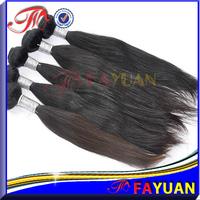 Fayuan hair: Free shipping 3pcs/lot mixed lengths virgin peruvian hair straight,natural color 5a human hair bundles