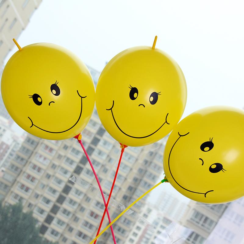 Free shipping ! 20PCS/LOT 12 inch pins tail balloon , smiley tail balloons, party decorations, wedding decoration(China (Mainland))