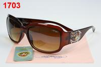 Male special mirror driver vintage Men fashion trend women's anti-uv sunglasses come with box free shipping