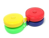 Household type retractable type plastic tape measure quantity clothing size tape measure tape measure double faced color