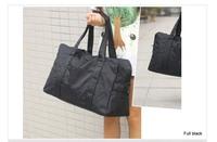Free shipping Waterproof nylon travel bag women's large capacity handbag one shoulder bag