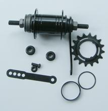 Free shipping Rattan hub quality brake bicycle black 32 hubs