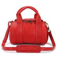Rockie Studded Leather Shoulder Bag,Mini Rocco Satchel bag,genuine leather handbags,fashion bags 46588