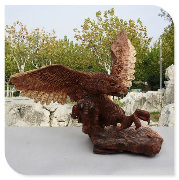 Online kopen Wholesale hout sculpturen van dieren uit China hout ...