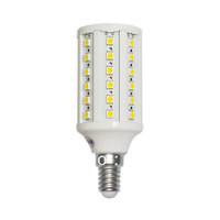 220V E14 Led 12W 900Lm 60 5050 SMD Corn Light Bulb Lamp Cool White Warm white whoelsale