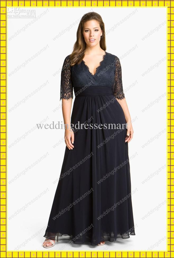 Модель вечернего платья для полных девушек