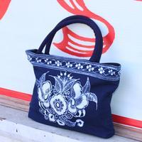 Waxprinting crafts waxprinting bags handbag decoration bag waxprinting technology cloth