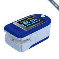 CE FDA CONTEC CMS50D Blue Fingertip SPO2 Blood Oxygen Pulse Oximeter With Color OLED Display