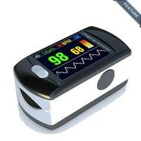 CONTEC CMS50E Color OLED Display Black Fingertip Pulse Oximeter, Blood Oxygen Monitor