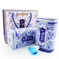 Flavor tieguanyin tea blue and white porcelain gift box new tea