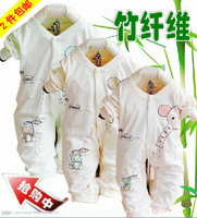 Autumn style romper baby bodysuit baby romper newborn clothing clothes bib pants bamboo fibre 521