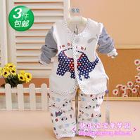 Baby clothes autumn set 012 clothes children's clothing infant autumn style baby clothes 552