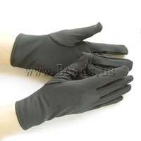Free shipping!!!Gloves,2013 new european and american style, Nylon, Hamsa, black, 235x90x80mm, 10Pairs/Lot, Sold By Lot