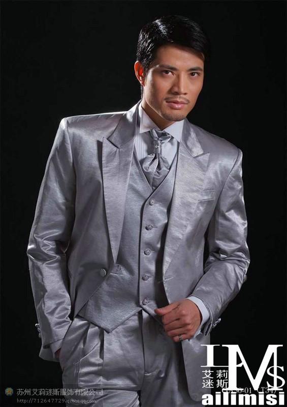 2015 top fashion wedding dress terno masculino sports suit men suit