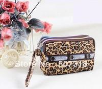FREE SHIPPING---  change Coin Bag lady's Purse three zip Women's Wallet  hanbag
