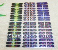 Free shipping   nail wrap sticker Wholesales(18pieces/set)