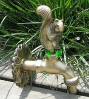 Animal faucet garden decoration fashion antique single cold plumbing hose