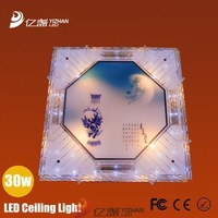 2013 New led Glass Pendant Modern Crystal bathroom bedroom wedding decorations ceiling lights 30w