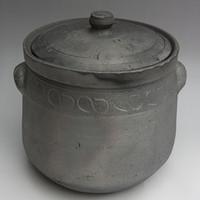Free shipping Big casserole black casserole traditional big sauceboxes casserole Large earthenware pot ishinabe sand