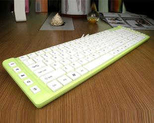 Freeshipping Jeway quality fashion ultra-thin multimedia laptop keyboard computer peripheral products(China (Mainland))