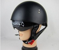 Free Shipping LS2 Half Face Open Face FIBERGLASS Motorcycle JET Helmet With Sunglasses, DOT Approved, Scooter Helmet