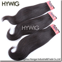 DHL Free shipping,4A Unprocessed Virgin Indian Hair Weave,Machine Hair Weft,Natural Straight,12-28Inch in Stock,10Pcs Wholesale