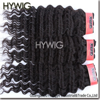 Free shipping,Wholesale,100% Unprocessed Virgin Indian Human Hair Weft,Hiar Extensions,Deep Wave,12-28Inches,4Pcs