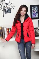 2014 free shipping 2013 new women Winter slim short down wadded  women's plus size cotton-padded outerwear fashion jacket  xf001