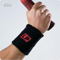 Lp660 professional thermal cotton wrist support wrist length belt badminton basketball sweat absorbing towel