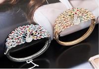 Wholesale 6pieces Fashion and  Retro The peacock temperament Bracelet