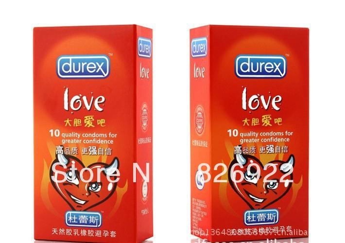 2013 NEW Durex condoms Durex LOVE 10box Bold Love 100 Condoms/Lot sex condom(China (Mainland))