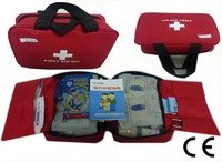 199 pcs First Aid Kit Emergency Bag Home Car Outdoor Red Cross Guide Set Bag B09