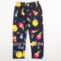 Free shipping NWT 5pcs/lot 18M~6Y girl patchworked printed mermaid & marine creature autumn long pant
