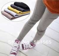 Women's Faux Cashmere Leggings Fashion Mid-Line Printed Legging Elastic Skinny Trousers 7 Colors Plus Size LG-435