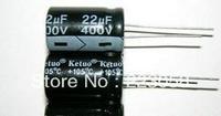 Free Shipping 50pcs,22uF 400V Radial Electrolytic Capacitor 13mm X 21mm