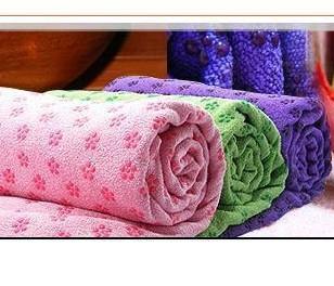 Cobertor yoga antiderrapante frete free shop toalhas tapete de yoga toalha Enviar saco de rede(China (Mainland))
