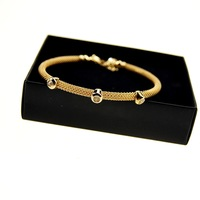 2013 Top Fashion Delicate Luxury Graceful Adjustable Gold plated Alloy Bracelet with Shining Rhinestone Free shipping
