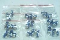 Free shipping Trimmer Potentiometer 100R-1M 13values x 10 =130PCS,adjustable resistor
