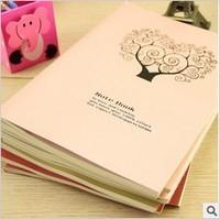 Freeshipping Hot!Korean stationery 16K Cartoon Notepad korean school supplies cute notebook blank journal
