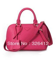 2013 genuine leather cowhide classic shaping shell small bags women's handbag shoulder bag messenger bag free shipping